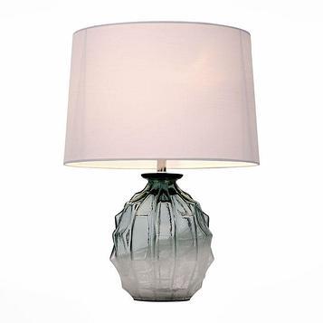 Настольная лампа AMPOLLA 60Вт Е27 хром 36x36x50см