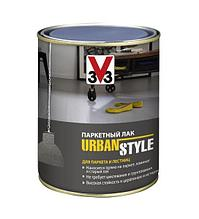Лак V33 Urban style полуматовый Серебристо-серый 0,75л