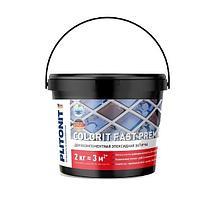 Затирка эпоксидная Plitonit Colorit fast premium Н006103 (серый) -2