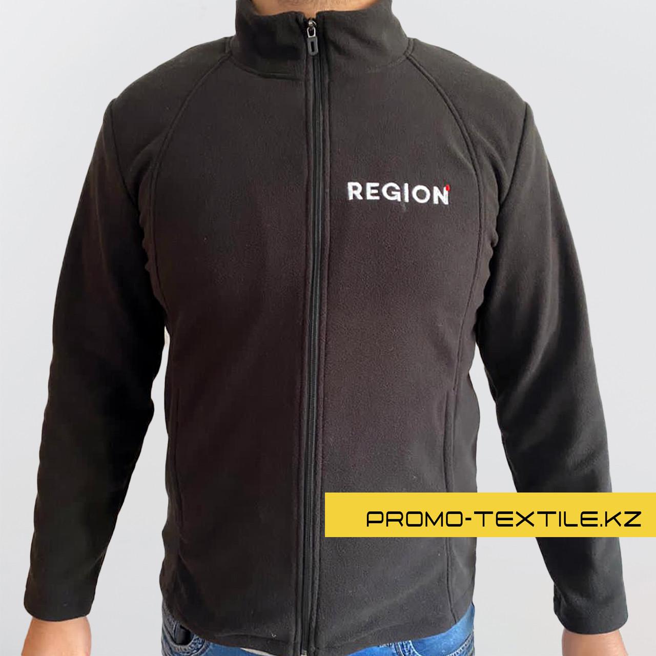 Мужская Флисовая кофта / Пошив Флисовая куртка / Флисовая толстовка на молнии