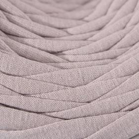 Трикотажная лента 'Лентино' лицевая 100м/320±15гр, 7-8 мм (сиренево-серый) - фото 3