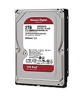 "Жесткий диск для NAS систем HDD  2Tb Western Digital Red SATA3 3,5"" 5400rpm 256Mb WD20EFAX"