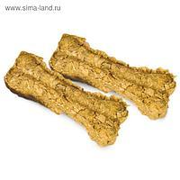 Лакомство Triol кость натуральная прессованная, для собак, 10 см, 30 - 40 г, 10 шт.