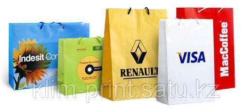 Изготовление бумажных пакетов под заказ в алматы