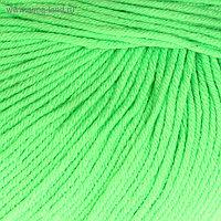 """Пряжа """"Baby Cotton"""" 60% хлопок, 40% акрил 165м/50гр (3427 неж. зелёный)"""