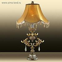 Настольная лампа SAFIRA 60Вт E27 коричневый