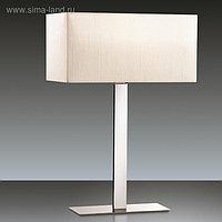 Настольная лампа NORTE 60Вт E27 хром