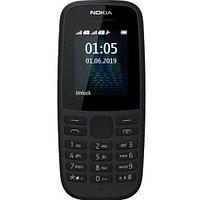 Nokia 105 Черный мобильный телефон (TA-1174Black)