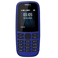 Nokia 105 Синий мобильный телефон (TA-1174)