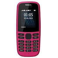 Nokia 105 Розовый мобильный телефон (TA-1174pink)