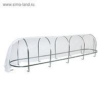 Парник, 5,2 × 1,04 × 1,21 м, стальной каркас, спанбонд 65 г/м², Reifenhäuser, «Агрощит»