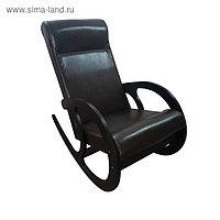 Кресло-качалка София, 530х1000х850, Темный/ Венге