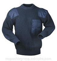 Форменный свитер (синий)