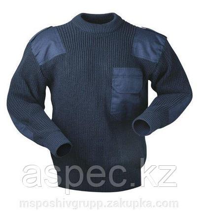 Форменный свитер (синий), фото 2