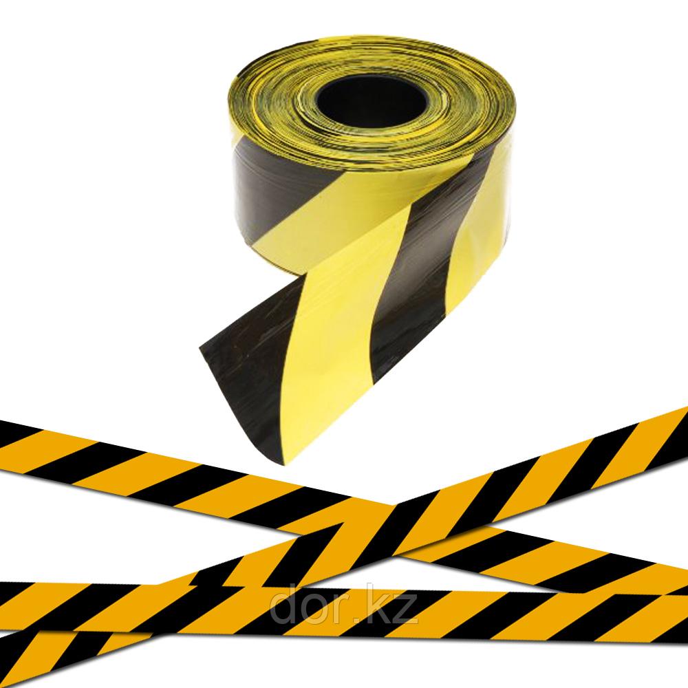 Лента оградительная черно-желтая SH535 75mm X150m +77079960093