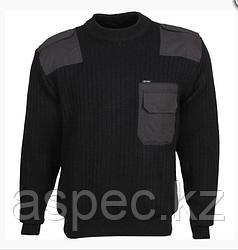Форменный свитер (черный)