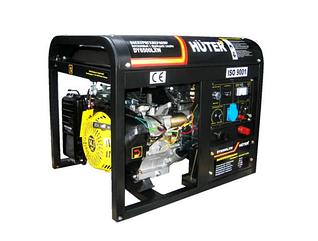 Бензиновый сварочный генератор HUTER DY6500LXW