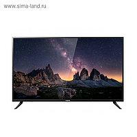 "Телевизор Harper 55U750TS, 55"", 3840х2160, DVB-T/T2/C/S2, 3xHDMI, 2xUSB, SmartTV, чёрный"