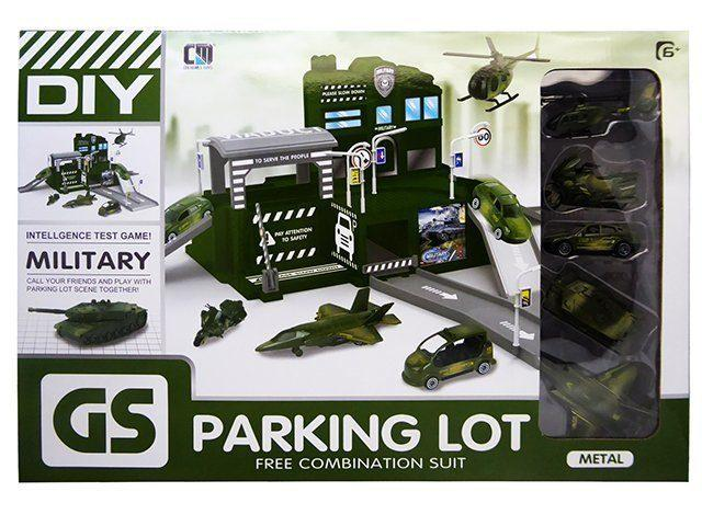 """Парковка """"Военная База"""" Military Parking Lot"""