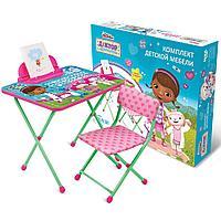 Набор детской мебели Disney «Доктор Плюшева» (арт. Д1П/ДП) от 1,5 до 3-х лет