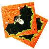Салфетки 3сл 33х33см Halloween /Хеллоуин/ Дракула 20шт/уп