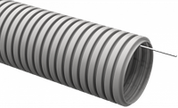 Труба гофрированная ПВХ d 20 с зондом (25 м) ИЭК