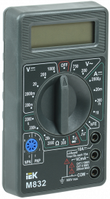 Мультиметр цифровой Universal M832 ИЭК