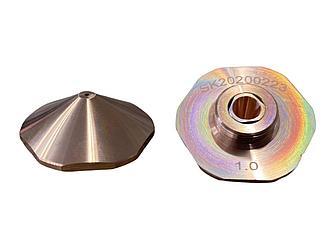 Сопло двойное 1 мм для Bodor лазерных станков