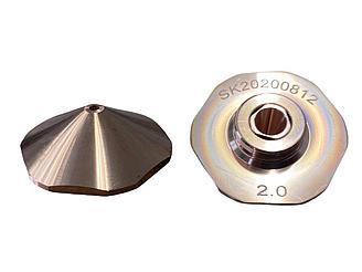 Сопло двойное 2 мм для Bodor лазерных станков