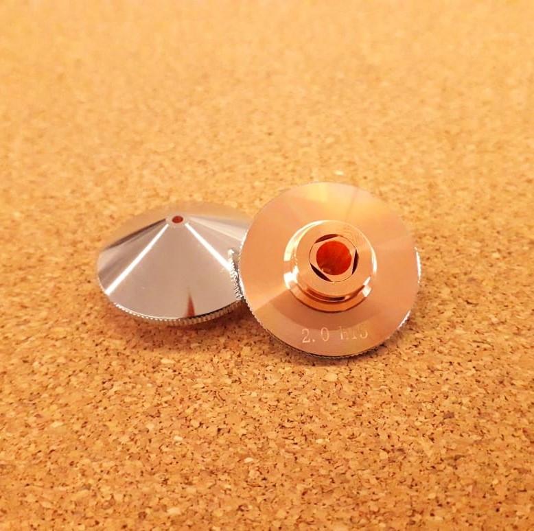 Сопло двойное 2 мм для лазерных станков DCH