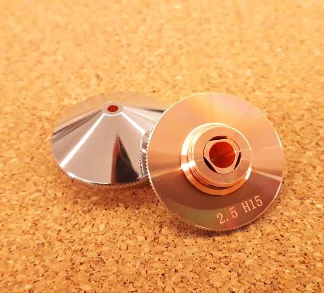 Сопло двойное 2.5 мм для лазерных станков DCH