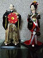 Статуэтки Самурай и Гейша, фото 1