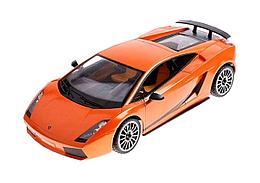 Rastar Радиоуправляемая машинка Lamborghini SuperLeggera, 1/14 (оранжевый)