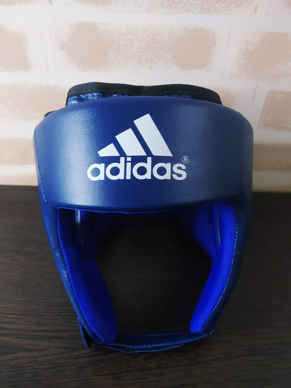 Боксерский шлем (синий)