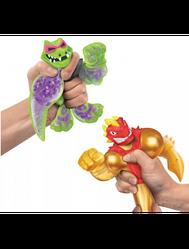 Гуджитсу Набор Фигурок Heroes of Goo Jit Zu Золотой Блейзагот против Рок Джо ГуЖитЦу атака водой