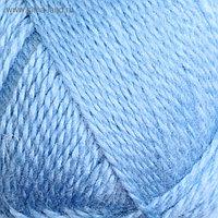 """Пряжа """"Воздушная"""" 25%меринос. шерсть, 25%шерсть, 50%акрил 370м/100гр (015 голубой)"""
