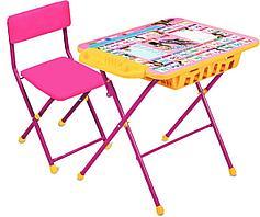 Набор детской мебели «Маша и медведь» (арт. КУ2П/3) от 3-х до 7-ми лет