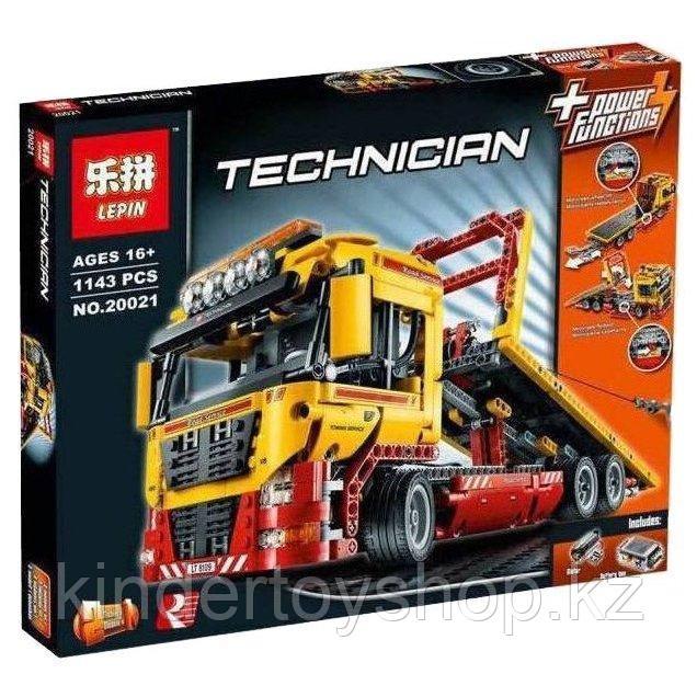 Конструктор Аналог лего техник LEGO 8109 LEPIN TECHNIC 20021 Эвакуатор Электромеханический