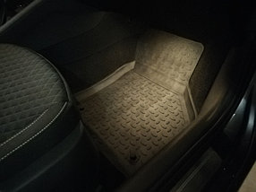 Резиновые коврики с высоким бортом для Skoda Octavia A7 2013-2020, фото 3