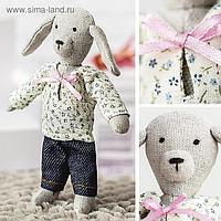 Игрушка малютка «Собачка Джули», набор для шитья, 21 × 14.4 × 0.8 см