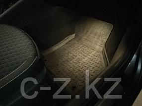 Резиновые коврики с высоким бортом для Skoda Octavia A8 2020-н.в., фото 3