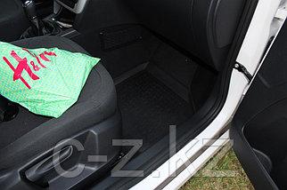 Резиновые коврики с высоким бортом для Skoda Yeti 2008-2018, фото 2