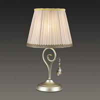 Настольная лампа MARIONETTA 40Вт E14 серебро