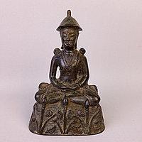 Статуэтка Будды. Материал: Бронза, литьё