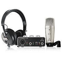 Комплект для звукозаписи Behringer U-Phoria Studio