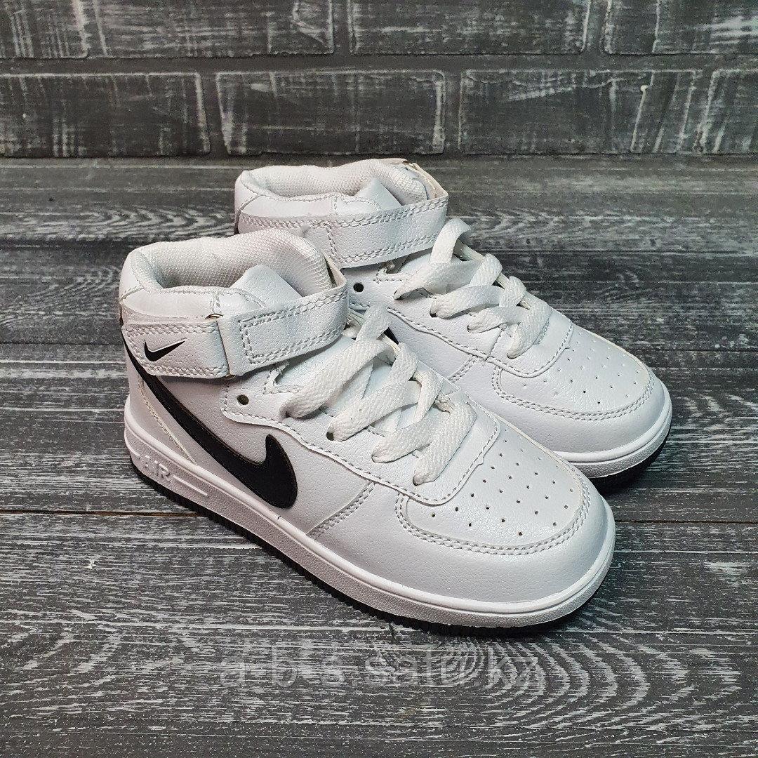 Кроссовки черные Nike высокие