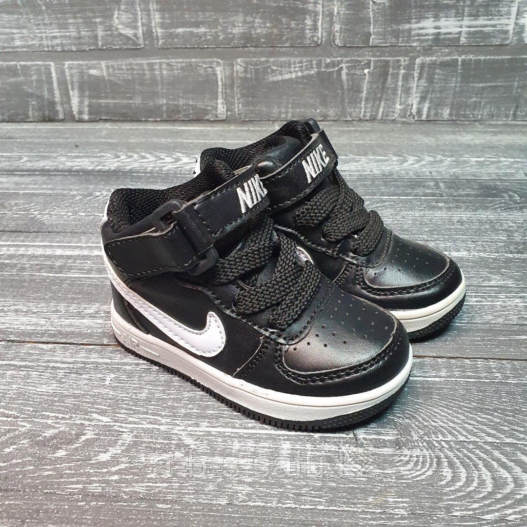 Кроссовки белые  высокие Nike