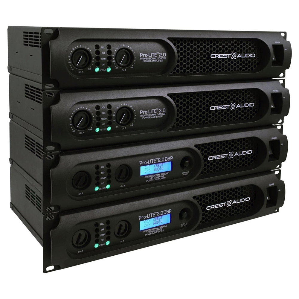 Усилитель мощности Crest Audio PRO-LITE 5.0 - фото 3