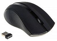 Мышка беспроводная Oklick 615MW черный оптическая (1000dpi) беспроводная USB (2but)