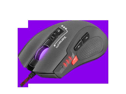 Мышка игровая GAMING MOUSE GENESIS XENON 210 OPTICAL 3200DPI WITH SOFTWARE RGB ILLUMINATED BLACK
